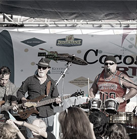 Past Art Show Band Photo